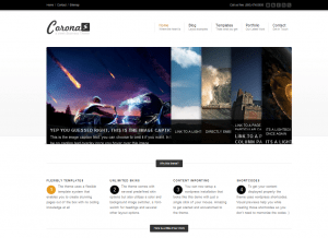 corona WordPress