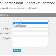 Kako dodati kontaktni email naslov v Prestashop