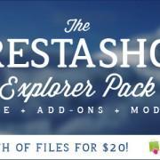 Prestashop promocijski paket na tržnici Themeforest