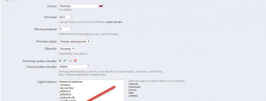 Kako prikazati mobilno številko v sporočilih v Prestashop-u