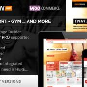 Gameplan - Fitnes Wordpress predloga