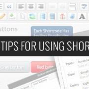 "Uporaba ""shortcodes"" v WordPress-u"