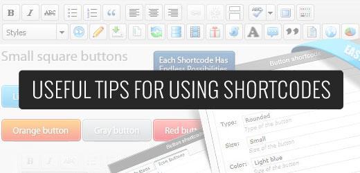 """Uporaba """"shortcodes"""" v WordPress-u"""