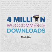 4 milijonov prenosov Woocommerce ecommerce vtičnika