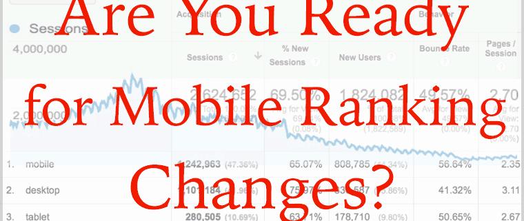 Googlovo mobilno preverjanje strani