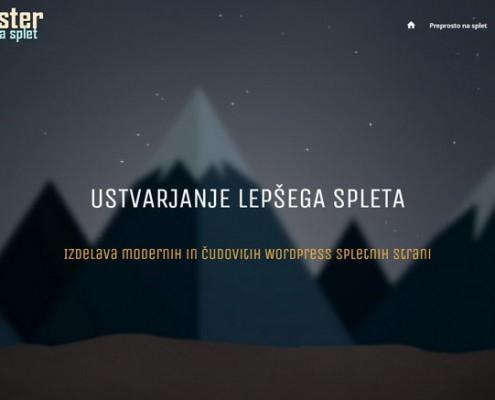 SPLETster - preprosto na splet