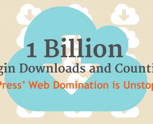 WordPress vtičniki so zabeležili 1 milijardo prenosov