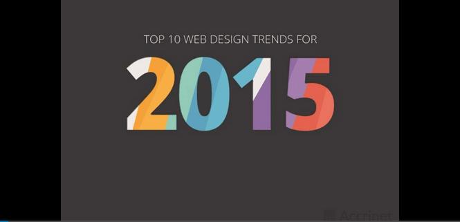 10 poglavitnih trendov spletnega oblikovanja za leto 2015