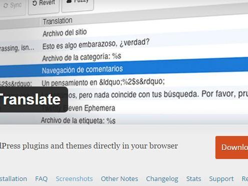 Loco Translate - vtičnik za prevajanje