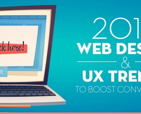 Trendi spletnega dizajna za leto 2016