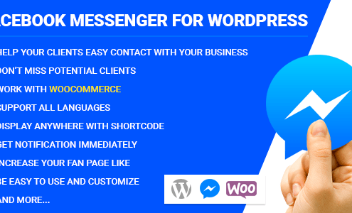 Facebook Messenger za WordPress