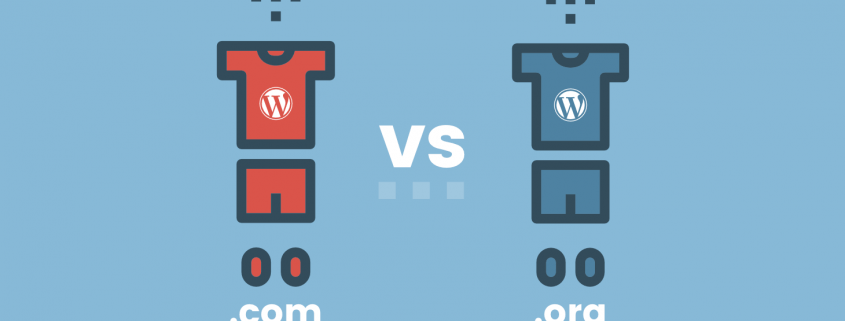 WordPress.com vs WordPress.org, v čem je razlika