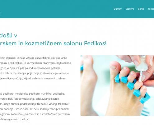 Pedikerski in kozmetični salon Pedikos